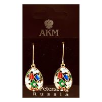 Earrings Faberge Style