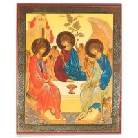 Russian Icon Trinity