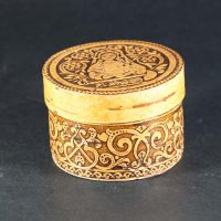 Birch Bark Trinket Box