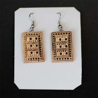 Birch Bark Earrings