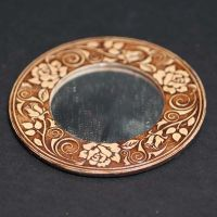 Birch Bark Compact Mirror
