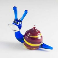 Glass Snail Miniature