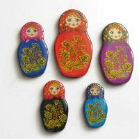Matrioshka  style magnet set