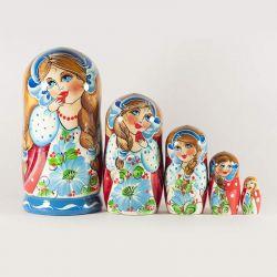 Matryoshka Girl with Strawberry