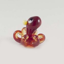 Octopus  glass figurine
