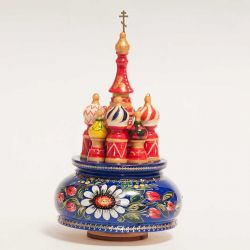 St. Basil Cathedral Russian mucial box