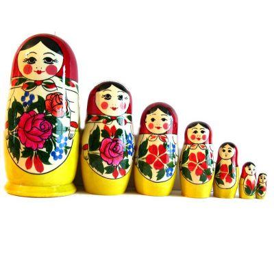 Semionovo Nesting Doll 7 Pieces Set, fig. 3
