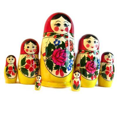 Semionovo Nesting Doll 7 Pieces Set, fig. 4