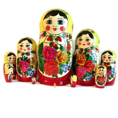 Nested Doll Russian Girl 10 pieces, fig. 6