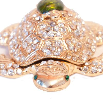 Faberge Box Two Turtles