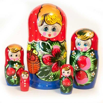 Polkhov-Maidan Style Matryoshka, fig. 4