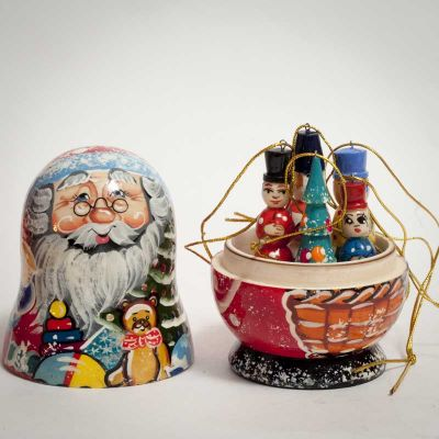 Santa Ornaments Christmas Set, fig. 2