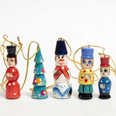 Santa Ornaments Christmas Set, fig. 3