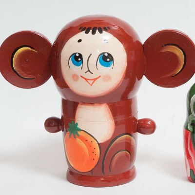 Cheburashka Matryoshka Doll, fig. 2