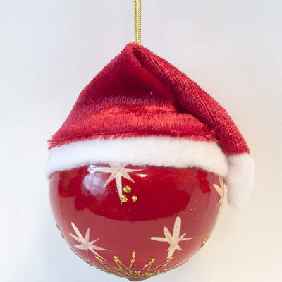 Santa Ball Ornament, fig. 2