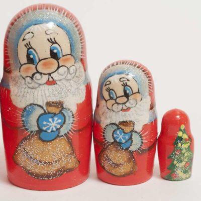 Santa Nesting Doll, fig. 3