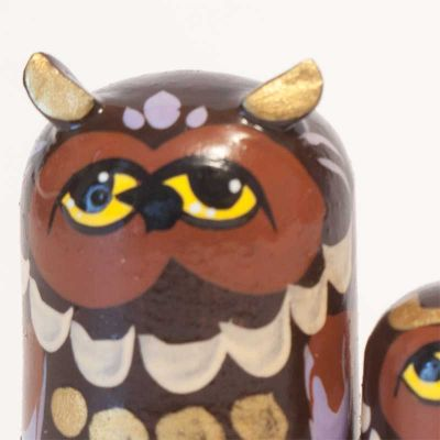 Nested Doll Owls