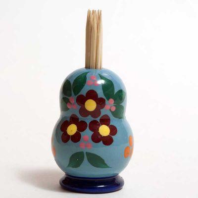 Toothpick Holder Blue, fig. 3