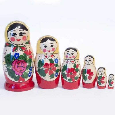 Nesting Doll Russian Girl, fig. 3