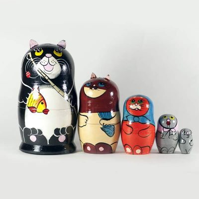 Russian Doll Cats and Mice, fig. 4
