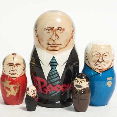 Putin Nesting Doll, fig. 5