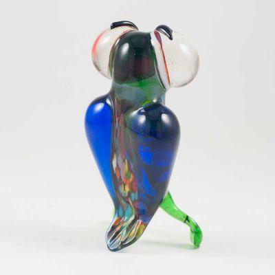 Glass Bird Owl Figurine, fig. 2