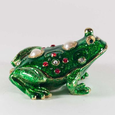 Faberge Style Green Froggy, fig. 2