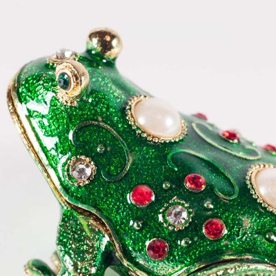 Faberge Style Green Froggy, fig. 4