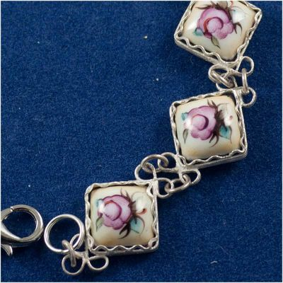 Bracelet Finift Rhombs Beige, fig. 2