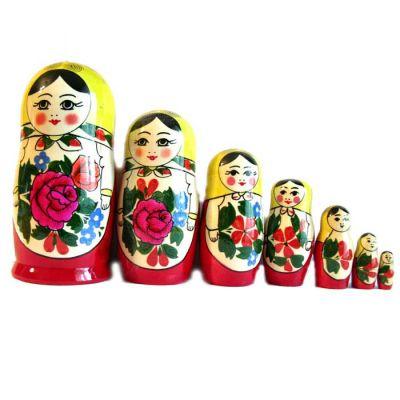 Semenov Matryoshka Doll 7 Pieces Set, fig. 3