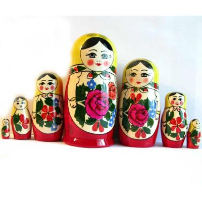 Semenov Matryoshka Doll 7 Pieces Set, fig. 2