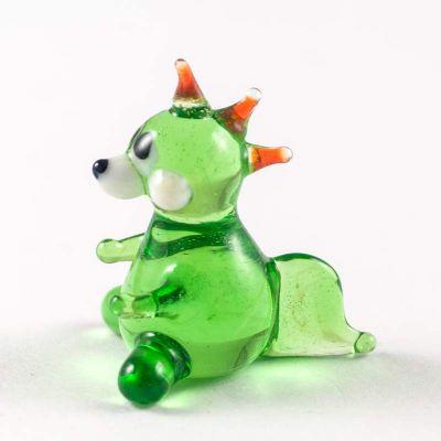 Tiny Green Glass Dragon, fig. 2
