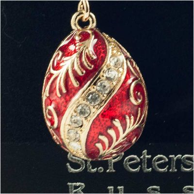 Earrings Wave on Red, fig. 3