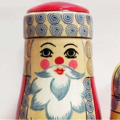 Nesting Doll Russian Santa